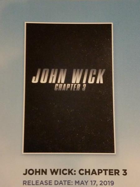 john wick promo poster