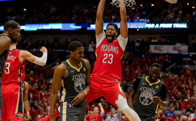 Les Pelicans reviennent face aux Warriors !