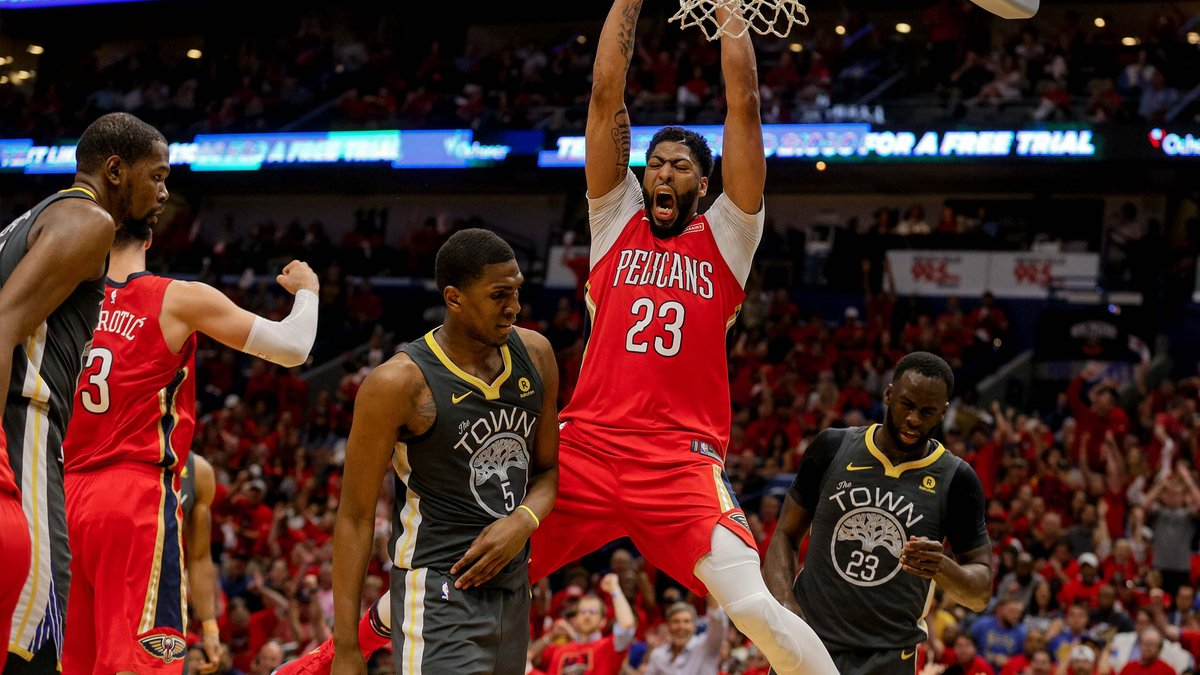 Les Pelicans reviennent face aux Warriors !