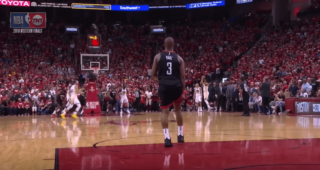 Chris Paul Rockets injury Game 5