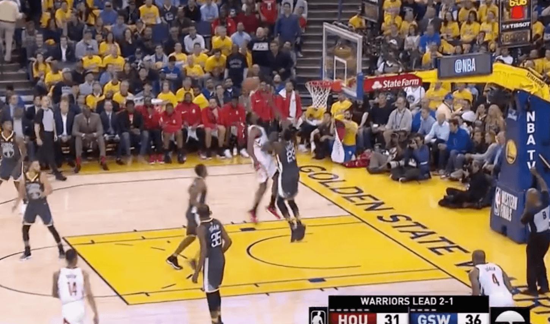 Houston Rockets Warriors Harden Green
