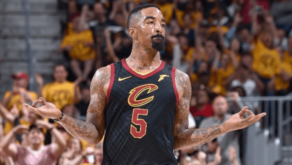 JR Smith Cavaliers Boston Celtics