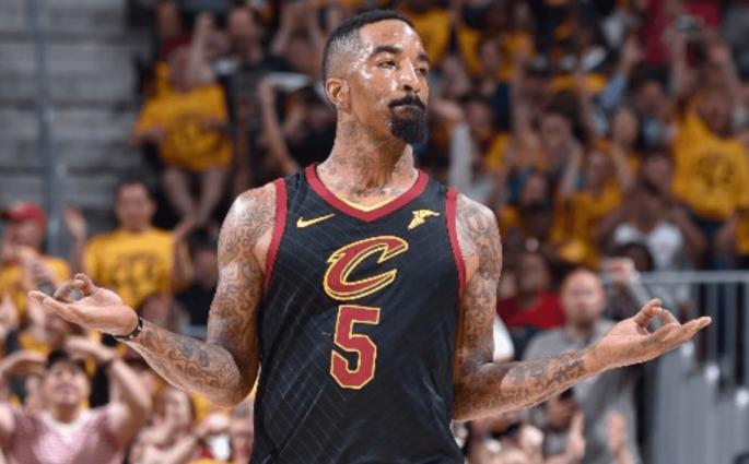 JR Smith Cavaliers Boston Celtics