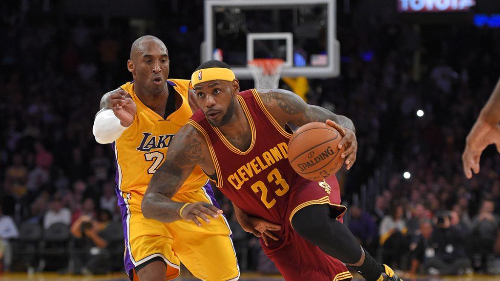 Pour Kobe Bryant, il faut empêcher LeBron d'aller à gauche