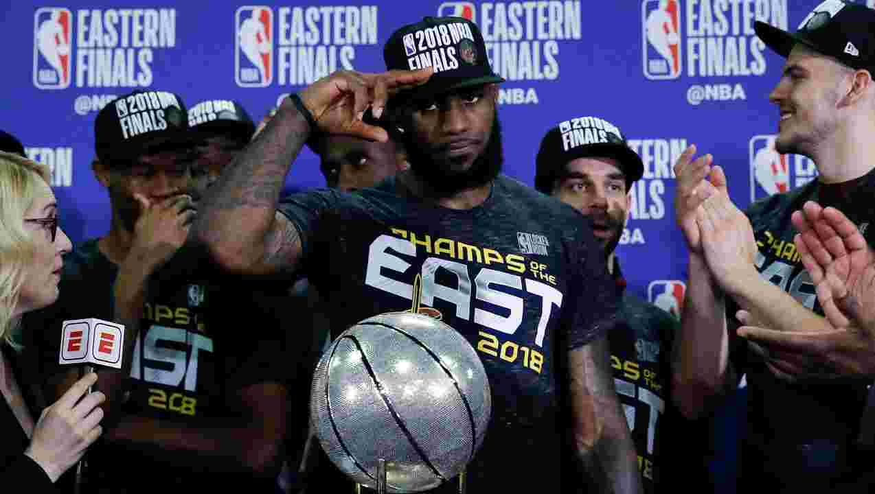 LeBron James Stephen Curry Cleveland Cavaliers