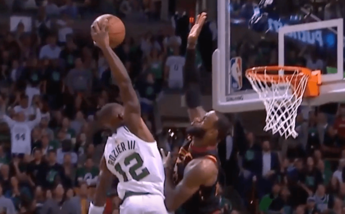 LeBron James Terry Rozier