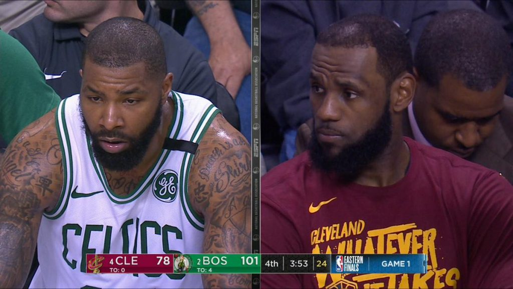 Marcus Morris LeBron James