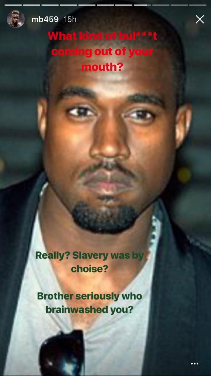 Mario Balotelli Kanye West