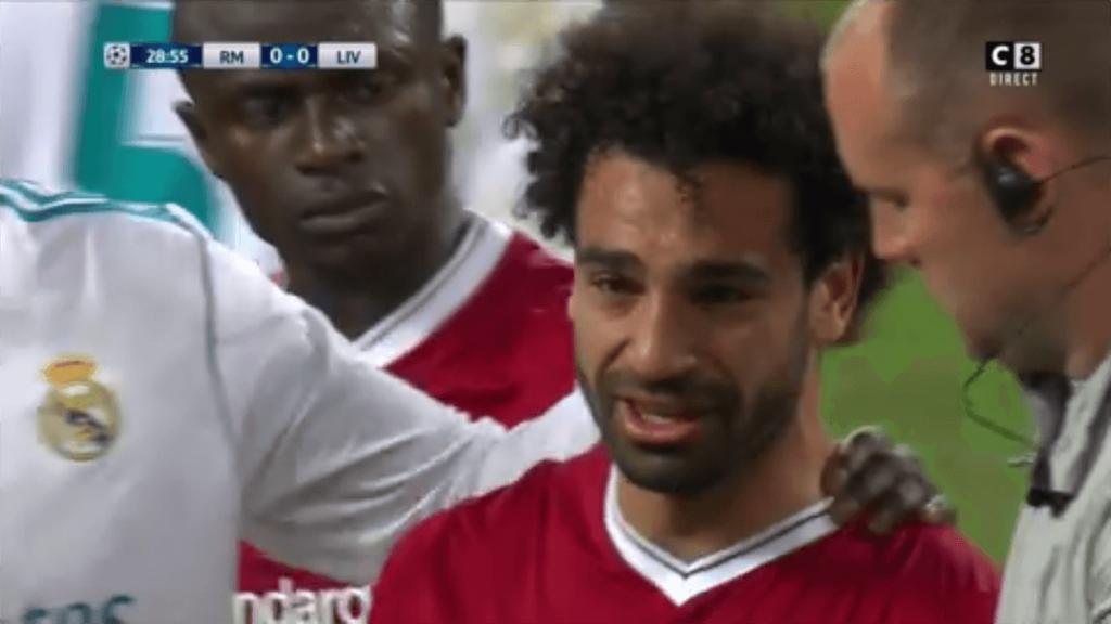 Mo Salah Carvajal Real Madrid Liverpool