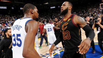 NBA Finals Kevin Durant LeBron James