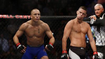 L'UFC travaille sur Georges St-Pierre vs. Nate Diaz