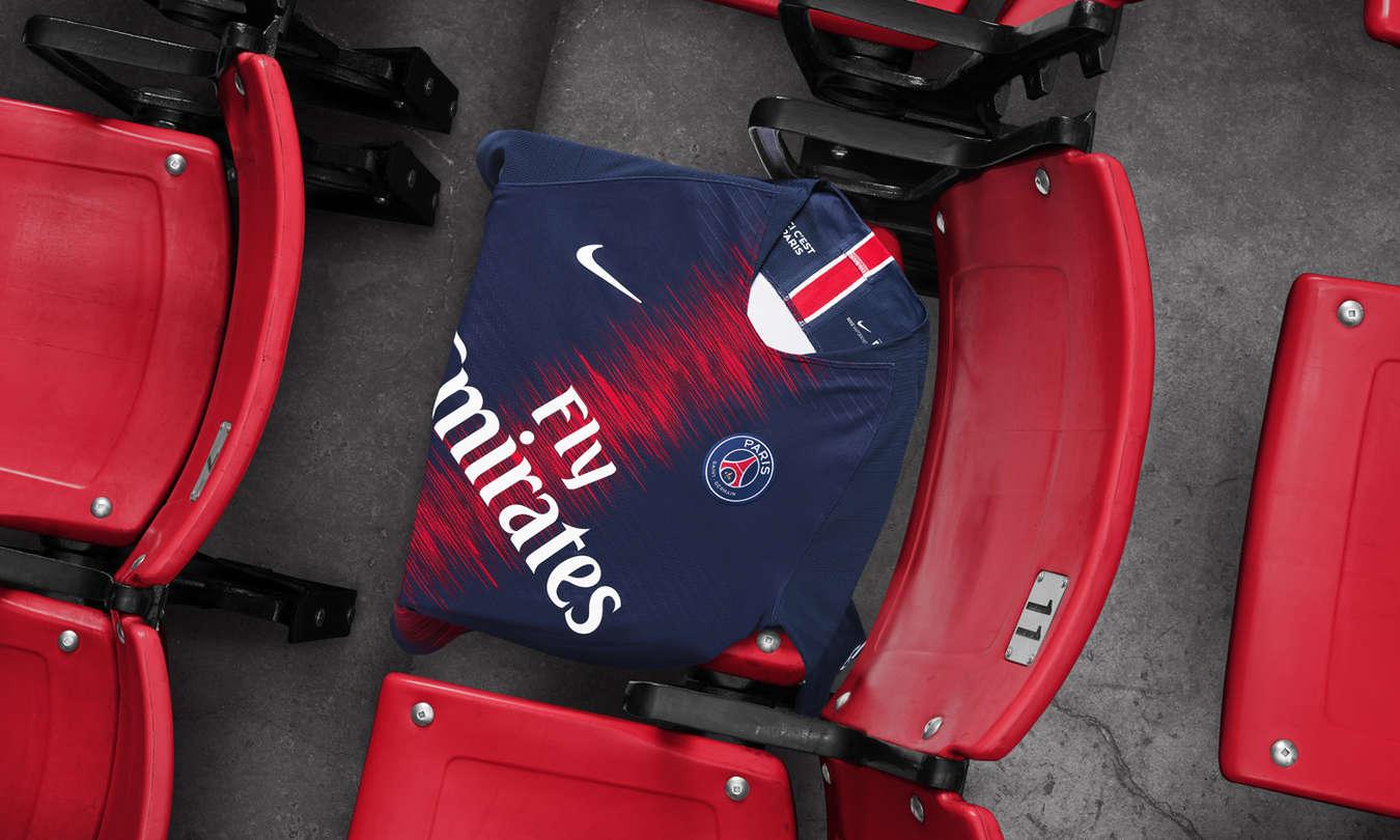 Le nouveau maillot du PSG pour la saison 2018/2019
