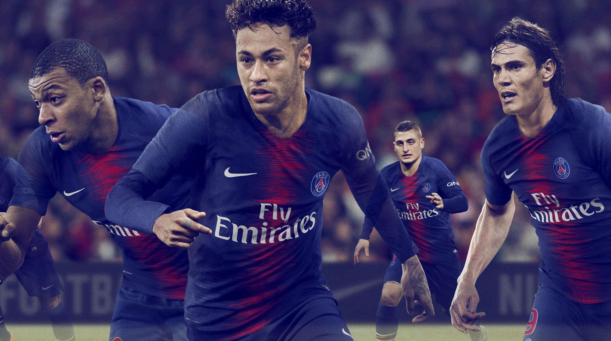 Le nouveau maillot dévoilé — PSG
