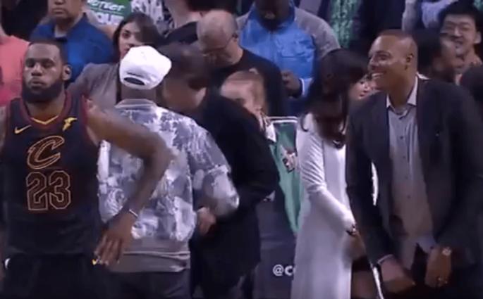 Paul Pierce LeBron James Celtics Cavaliers