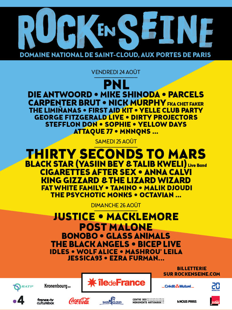 Le très gros programme de Rock en Seine 2018