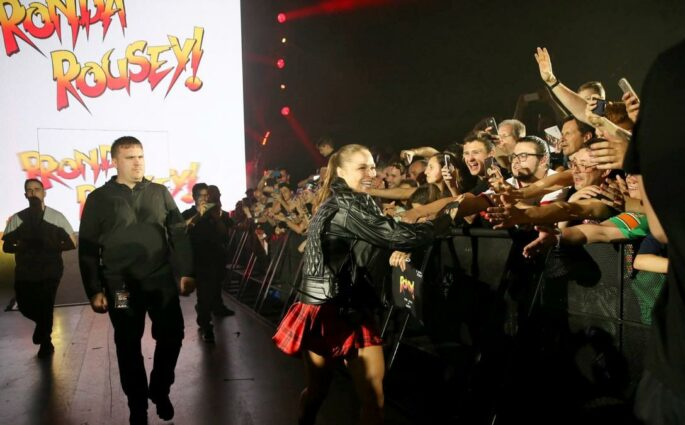 Ronda Rousey Paris