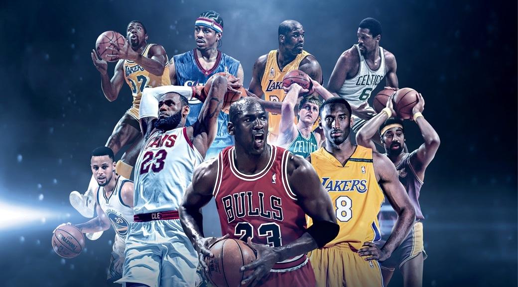 Les 100 meilleurs joueurs de l'histoire selon SLAM Magazine