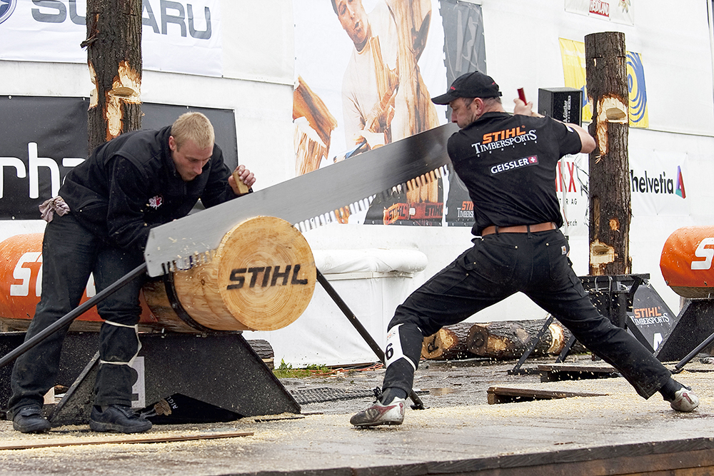 Stihl Championships scie