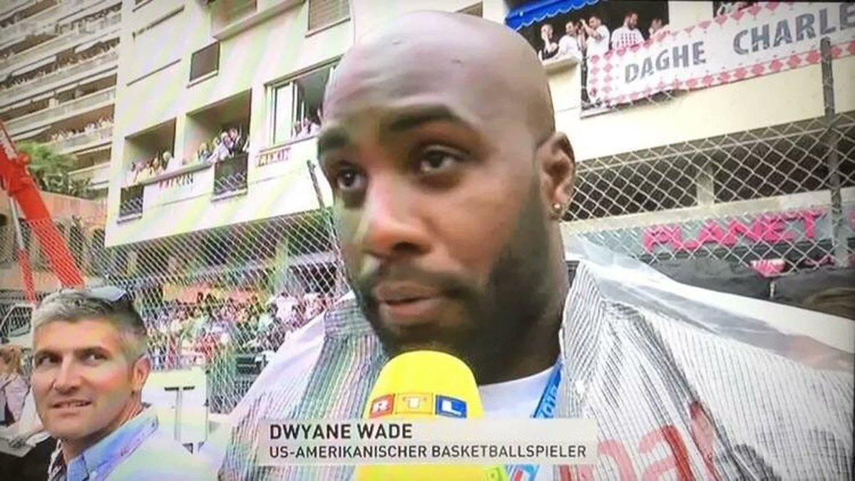 Teddy Riner Dwyane Wade