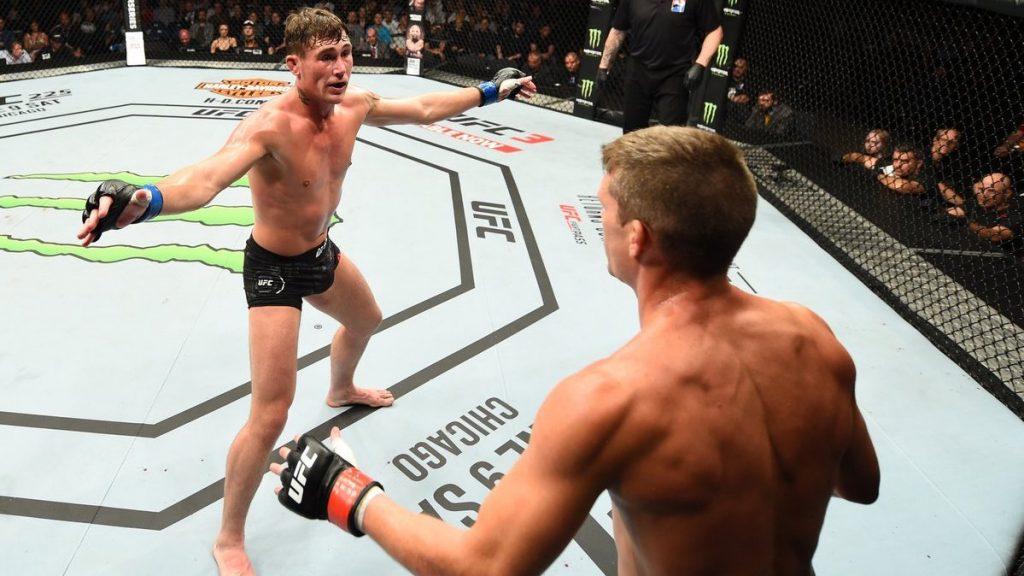 UFC Liverpool Darren Till Stephen Wonderboy Thompson