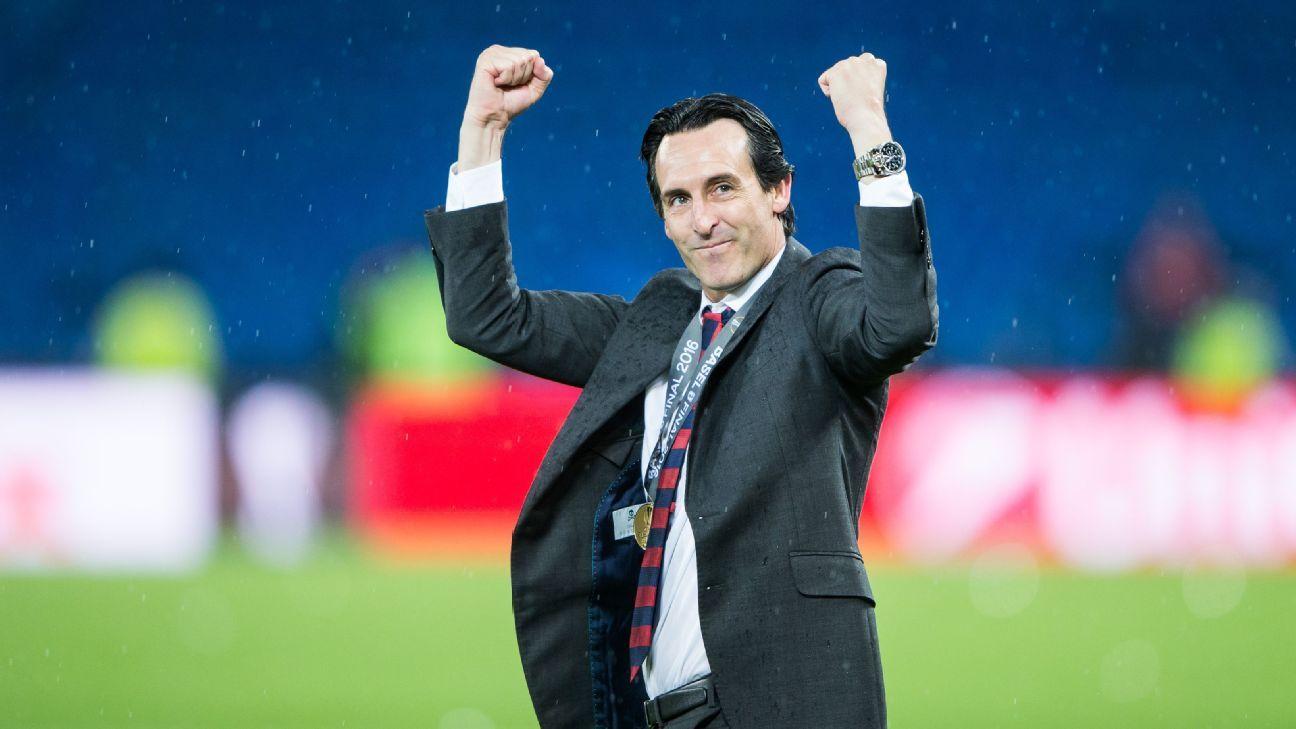 Unai Emery serait bien le prochain manager d'Arsenal
