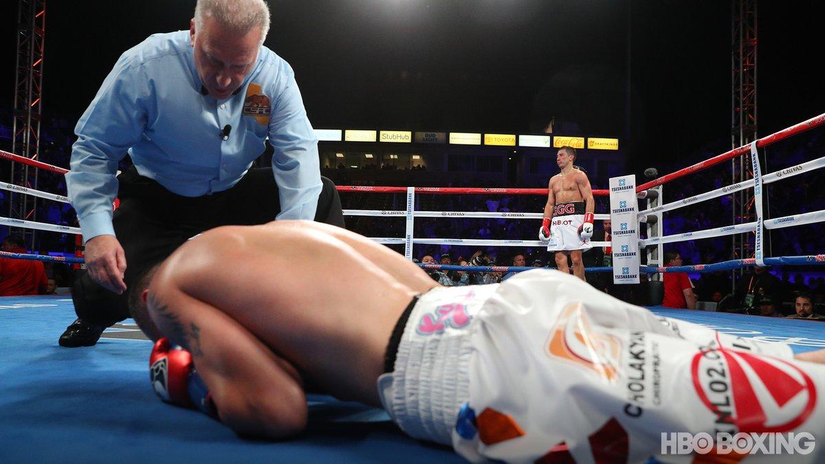 KO au 2e round - Gennady Golovkin n'a fait qu'une bouchée de Martirosyan