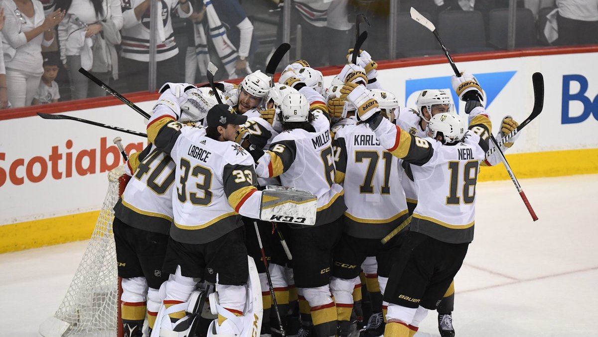 Vegas Golden Knights Western Conference Champions