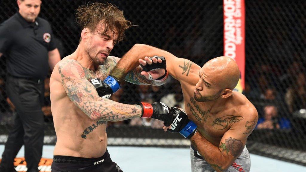 CM Punk UFC 225 Mike Jackson
