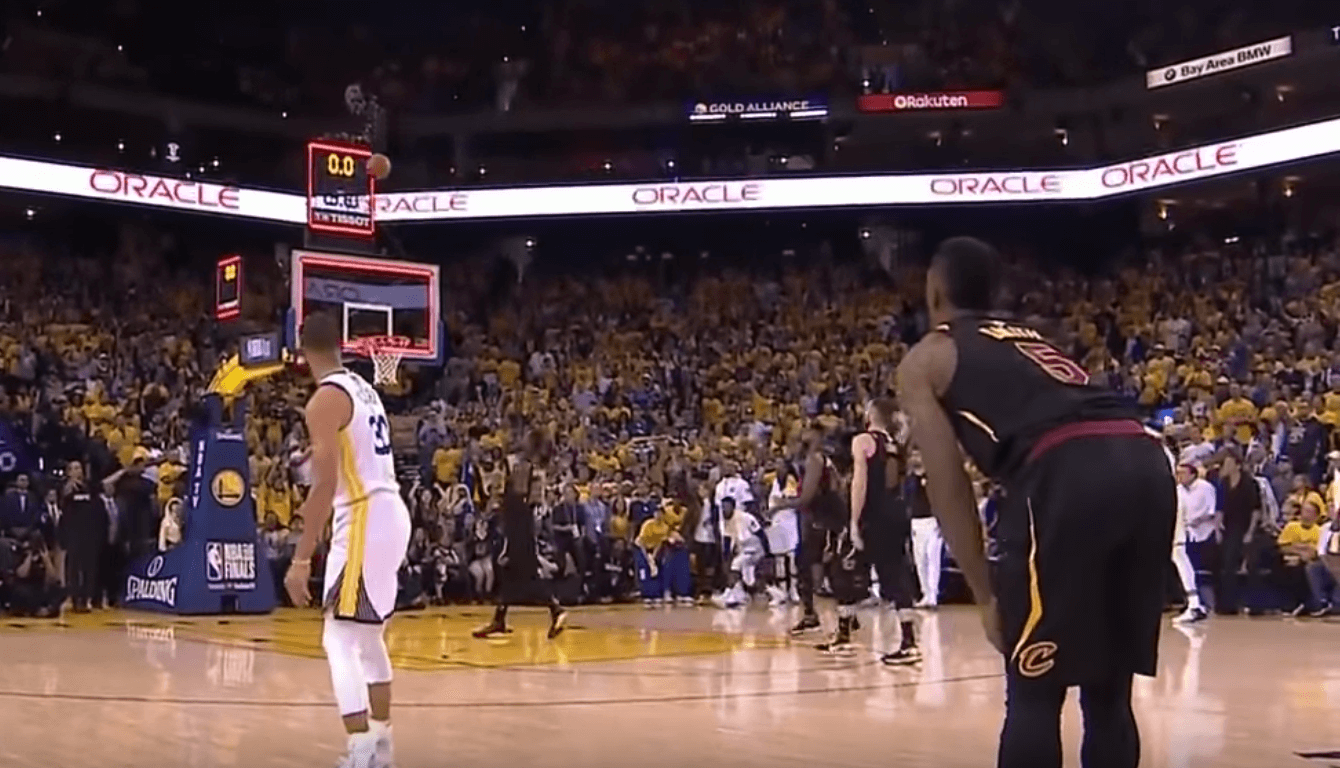 Cleveland Cavaliers Golden State Warriors Curry buzzer