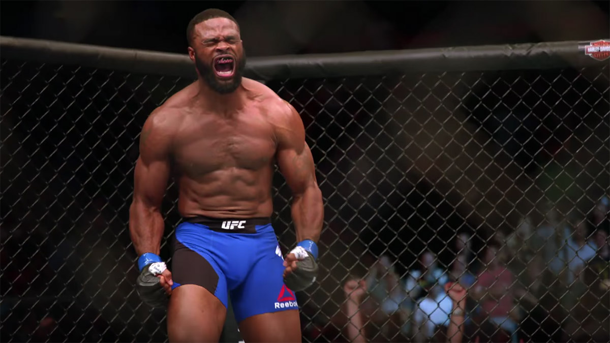Colby Covington Tyron Woodley UFC