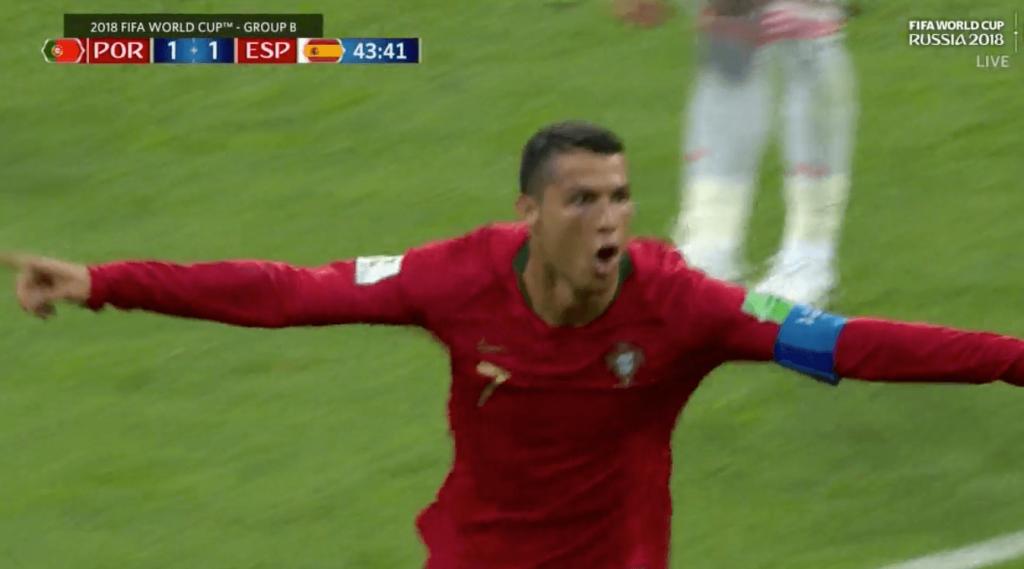 La terrible boulette de De Gea pour le doublé de Ronaldo