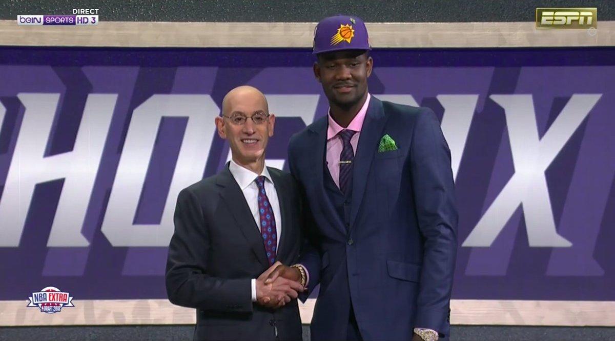 Deandre Ayton NBA Draft 2018