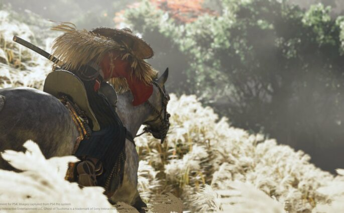 Ghost of Tsushima a droit à sa première bande-annonce gameplay