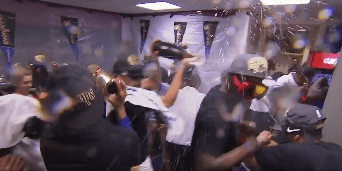 Golden State Warriors Champagne