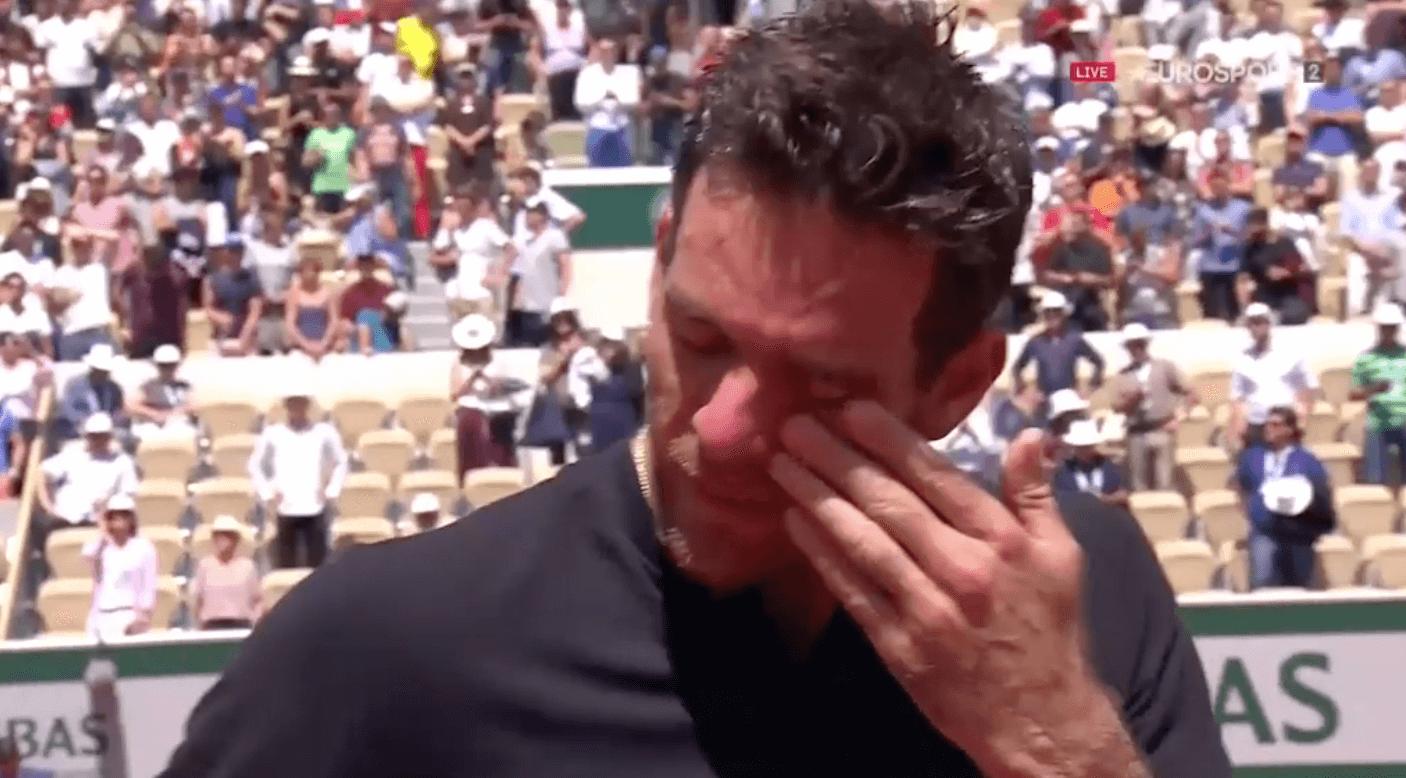 Juan Martin Del Potro Roland Garros