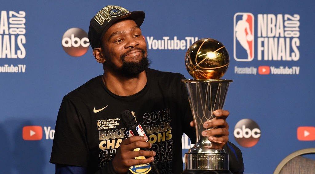 Kevin Durant MVP Finals 2018