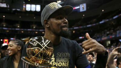 Kevin Durant Warriors titre