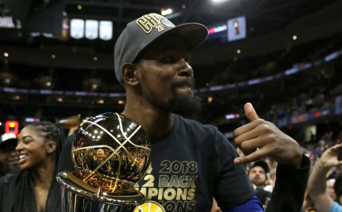 Kevin Durant Warriors titre