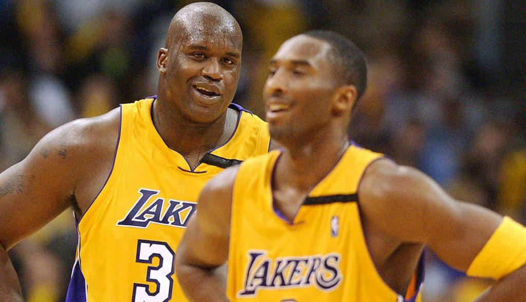 Kobe Bryant Shaquille O Neal 2001