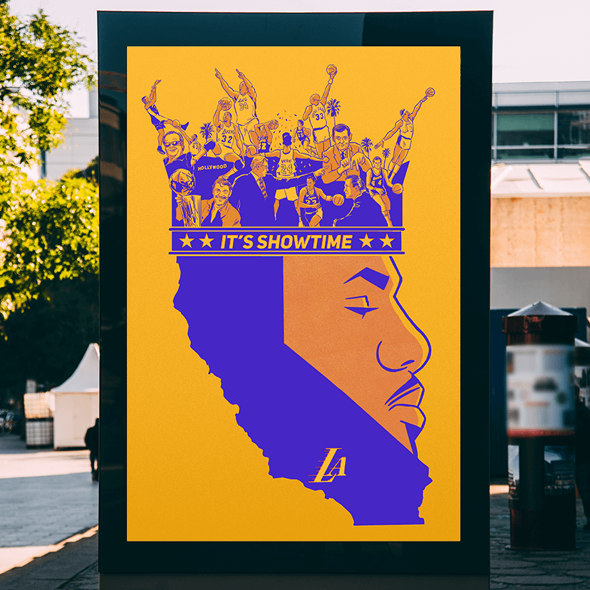 LeBron James Los Angeles (1)