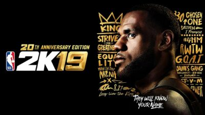 LeBron James NBA 2K19
