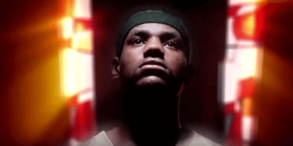 LeBron James Star Wars Warriors