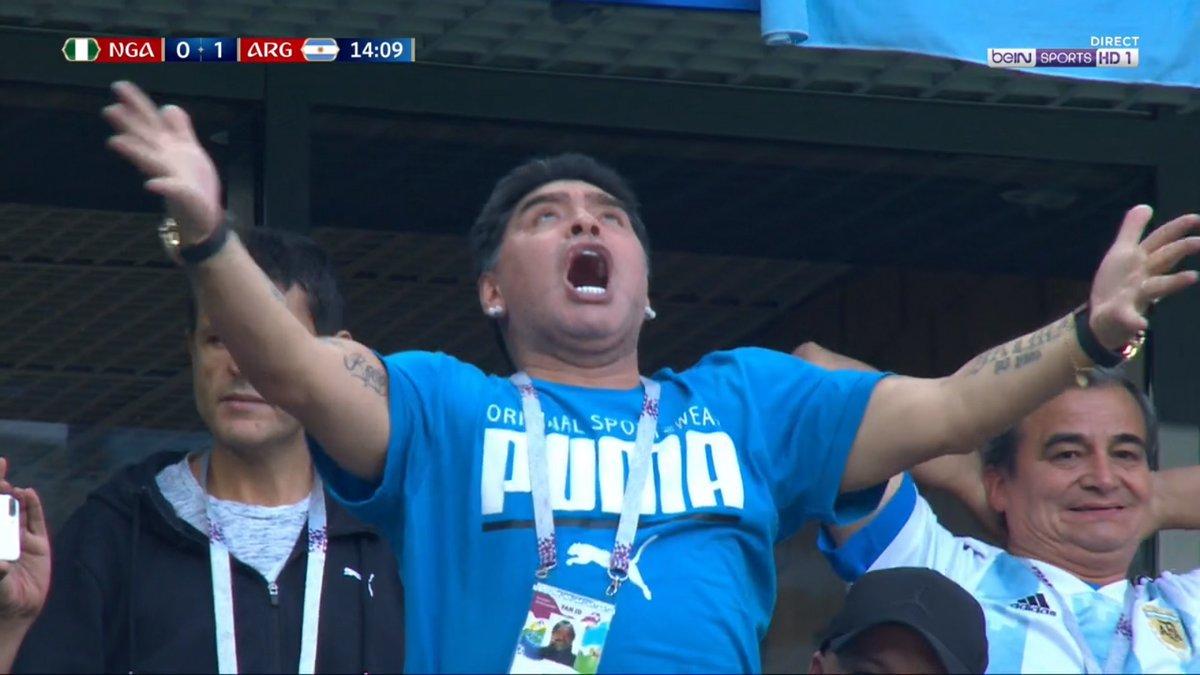 Lionel Messi Maradona Nigeria