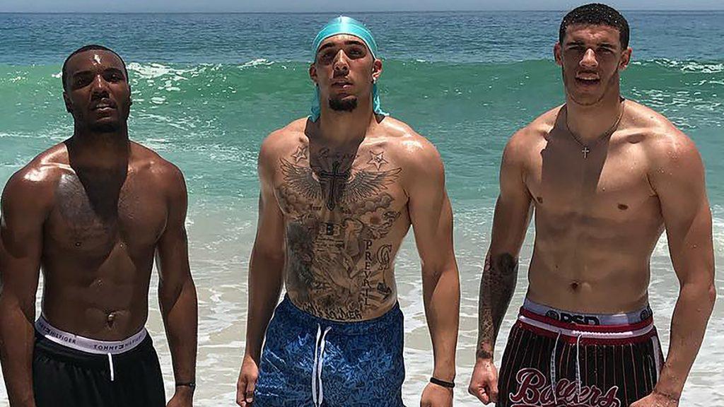 Kyle Kuzma et Lonzo Ball prennent du muscle cet été