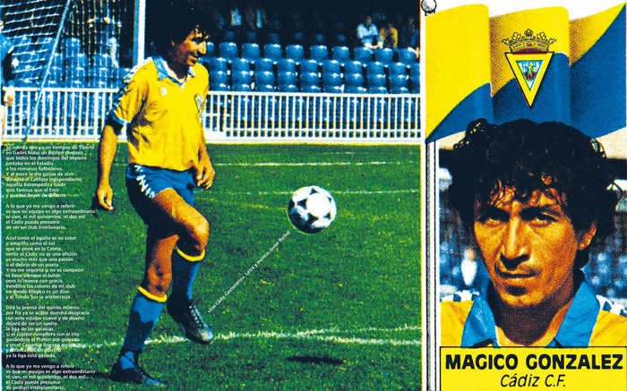 Magico Gonzalez Cadiz