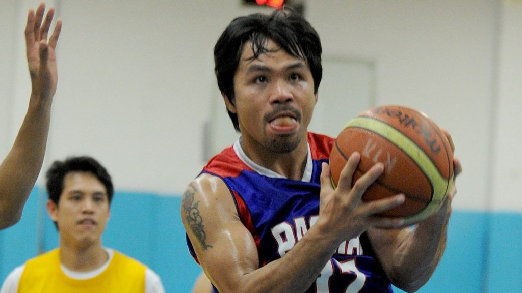Manny Pacquiao Basket