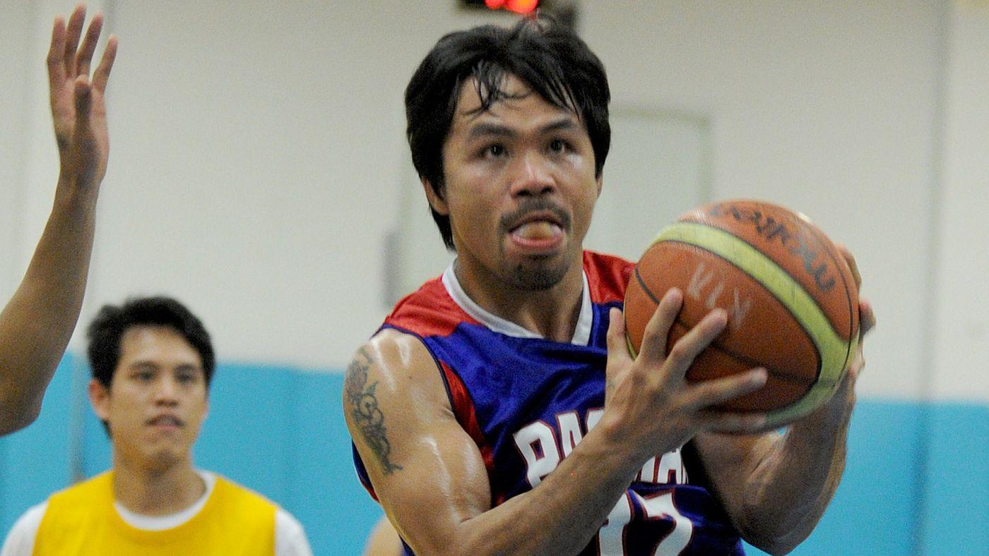 Manny Pacquiao Basket