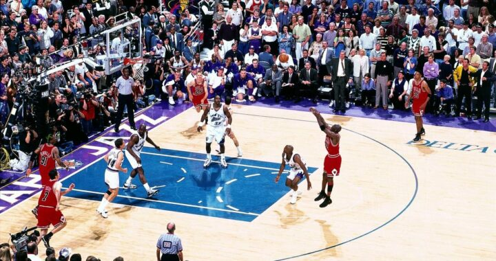 Michael Jordan The Last Shot Utah Jazz