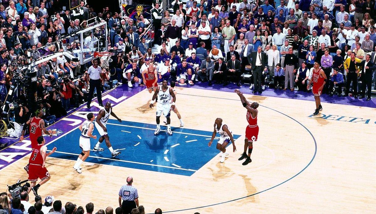 Michael Jordan The Last Shot Utah Jazz
