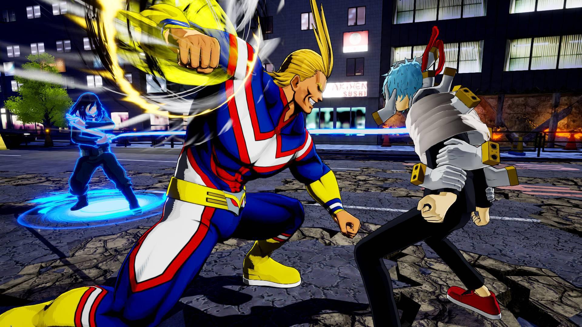 My Hero One's Justice - un nouveau trailer présenté à l'E3
